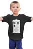 """Детская футболка классическая унисекс """"Tardis (Тардис)"""" - сериал, doctor who, доктор кто, тардис, машина времени"""