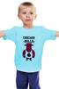 """Детская футболка классическая унисекс """"Chicago Bulls"""" - баскетбол, bulls, chicago bulls, чикаго буллз, быки"""