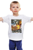 "Детская футболка классическая унисекс ""Terremoto"" - винтаж, динозавры, афиша, kinoart, легенда о динозавре"