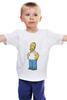 "Детская футболка ""Гомер Симпсон"" - homer, симпсоны, гомер симпсон, the simpsons"