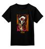 "Детская футболка классическая унисекс ""Blessed prayer"" - арт, девушка, tattoo, крест, тату, молитва, sugar skull"