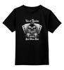 """Детская футболка классическая унисекс """"Ace Of Spades"""" - skull, череп, игральные карты, ace of spades, игральные кости"""