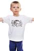 """Детская футболка классическая унисекс """"Тарантино"""" - кино, черно-белые, tarantino, тарантино"""
