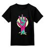 """Детская футболка классическая унисекс """"Рука Зомби (Ходячие Мертвецы)"""" - ходячие мертвецы, the walking dead, zombie hand, рука зомби"""