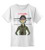 """Детская футболка классическая унисекс """"Gorillaz"""" - gorillaz, 2d, funk, гориллаз"""