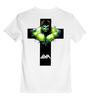 """Детская футболка классическая унисекс """"Арт Халк"""" - крест, hulk, мстители, халк"""