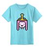"""Детская футболка классическая унисекс """"Принцесса Бубльгум """" - adventure time, время приключений, бубльгум, принцесса бубльгум, princess bubblegum"""