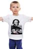 """Детская футболка классическая унисекс """"PUSHкин"""" - патриот, пушкин, pushkin, царскосельский, pushкин"""
