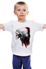 """Детская футболка классическая унисекс """"Череп индейца"""" - skull, череп, индеец, куп"""