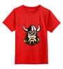 """Детская футболка классическая унисекс """"Веселый викинг"""" - веселый викинг, viking, викинг, история, путь воина"""