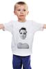"""Детская футболка классическая унисекс """"Сексуальная девушка в молоке"""" - девушка, вода, алина макарова, сексуальная девушка"""