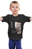 """Детская футболка классическая унисекс """"Девушка с татуировкой дракона"""" - дракон, тату, постер, афиша, kinoart"""