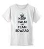 """Детская футболка классическая унисекс """"Edward Snowden"""" - keep calm, америка, россия, эдвард сноуден, edward snowden"""