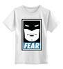 """Детская футболка классическая унисекс """"Batman (Бэтмен)"""" - страх, batman, fear, бэтмен"""