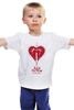"Детская футболка ""Pulp Fiction - heart"" - tarantino, криминальное чтиво, pulp fiction, квентин тарантино, drags"