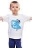 """Детская футболка """"Pony-Skype"""" - pony, mlp, пони, skype"""