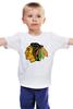 """Детская футболка """"индеец"""" - индеец, native american"""