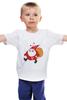 "Детская футболка классическая унисекс ""Happy New Year!"" - happy new year, новый год, дед мороз, санта"