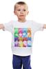"""Детская футболка классическая унисекс """"Идзуми Сэна и Итидзё Рёма"""" - аниме, манга, персонажи из аниме, любовная сцена, сёнэн-ай"""