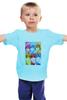 """Детская футболка классическая унисекс """"Идзуми Сэна и Итидзё Рёма"""" - аниме, манга, персонажи из аниме, любовная сцена, сёнен-ай"""