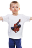 "Детская футболка ""Человек-паук (Spider-man)"" - marvel, spider-man, superhero, человек-паук"