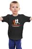 """Детская футболка классическая унисекс """"ФитПит.рф - Спортивное питание"""" - спорт, фитнес, crossfit, кросфит"""