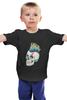 "Детская футболка ""Череп Панка"" - skull, череп, рок, punk, панк"