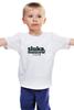 "Детская футболка ""sluka.moscow"" - кириллслука, слука, kirillsluka"