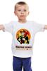 """Детская футболка классическая унисекс """"""""Пожарная служба"""" - оригинальная коллекция"""" - стиль, работа, актуально, россия, hero, апрель, рубль, мода 2014, коллекция, смурфасон"""