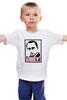 "Детская футболка классическая унисекс ""Путин OBEY"" - стиль, россия, russia, путин, президент, swag, obey, putin"