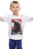 """Детская футболка классическая унисекс """"Godzilla """" - кино, динозавры, годзилла, godzilla, kinoart"""