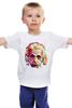 "Детская футболка ""Альберт Эйнштейн (Albert Einstein)"" - albert einstein, физика, полигоны, polygons, альберт эйнштейн"