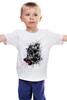 """Детская футболка """"Кровавый оскал"""" - кровь, волк, оскал, wolf"""