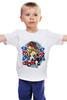 "Детская футболка ""Southern life"" - guns, losadleras, los adleras, kotashi, cowgirl, confederate states, кша"