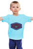 "Детская футболка классическая унисекс ""Мгу"" - мгу, msu, mgu"