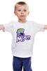 """Детская футболка классическая унисекс """"Безумный Шляпник (Mad Hatter)"""" - mad hatter, безумный шляпник"""