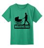 """Детская футболка классическая унисекс """"The Walking Dad"""" - юмор, семья, отец, ходячие, игра слов"""