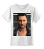 "Детская футболка классическая унисекс ""Адам Левин"" - rock, maroon 5, adam levine, адам левин, sexiest man alive"