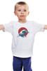 """Детская футболка """"Япония"""" - арт, стиль, море, девушке, аниме, япония, japan, цунами, tsunami"""