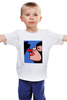 """Детская футболка """"Pop art"""" - кошка, поп арт, женщина, cherry, женщина кошка"""