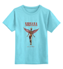 """Детская футболка классическая унисекс """"Nirvana In Utero t-shirt"""" - grunge, nirvana, kurt cobain, курт кобейн, in utero"""