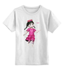 """Детская футболка классическая унисекс """"Маленькая Таджичка"""" - арт, таджичка, маленькая"""