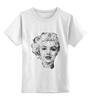 """Детская футболка классическая унисекс """"Мэрилин Монро"""" - tshirt, актриса, мэрилин монро, marilyn monroe"""