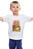 """Детская футболка """"Поздравляем с 8 марта!"""" - женский день, поздравляем с 8 марта"""