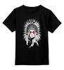 """Детская футболка классическая унисекс """"покахонтас"""" - pocahontas, native american"""