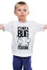 """Детская футболка классическая унисекс """"It's nota BUG """" - ноты, смешные надписи, bug, nota"""