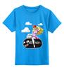 """Детская футболка классическая унисекс """"Принцесса Пич (Марио)"""" - mario, марио, принцесса пич, princess peach"""