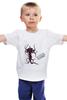 """Детская футболка классическая унисекс """"Slenderman Horror game"""" - game, slender, slenderman"""