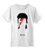 """Детская футболка классическая унисекс """"Дэвид Боуи"""" - david bowie"""