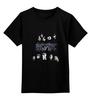"""Детская футболка классическая унисекс """"AC/DC"""" - rock, hard rock, ac dc, ac-dc"""